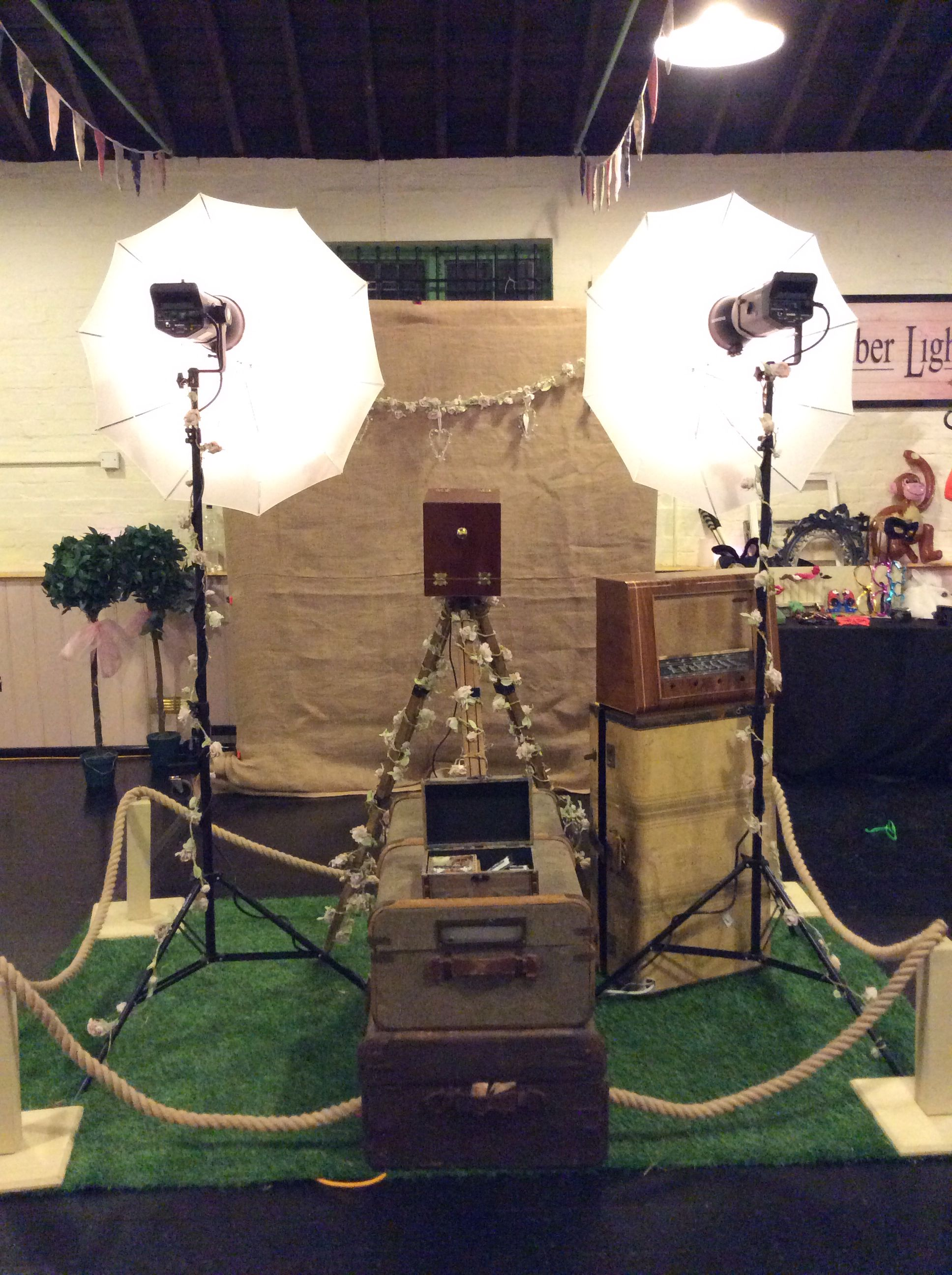Prop 'A' Print open air photo booths for weddings and