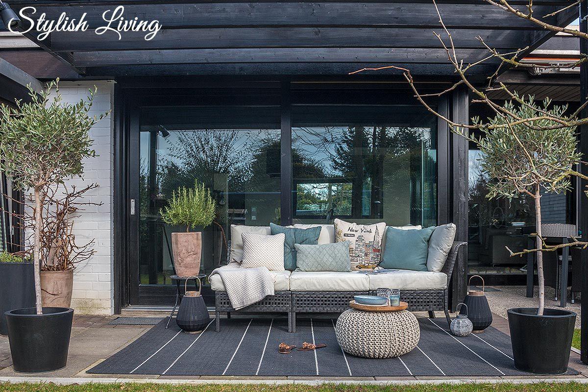 Loungebereich auf der Terrasse - mit eBay [WERBUNG | eBay and Gardens
