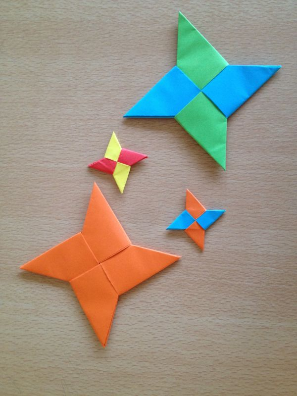 Shuriken En Origami Shuriken And Origami