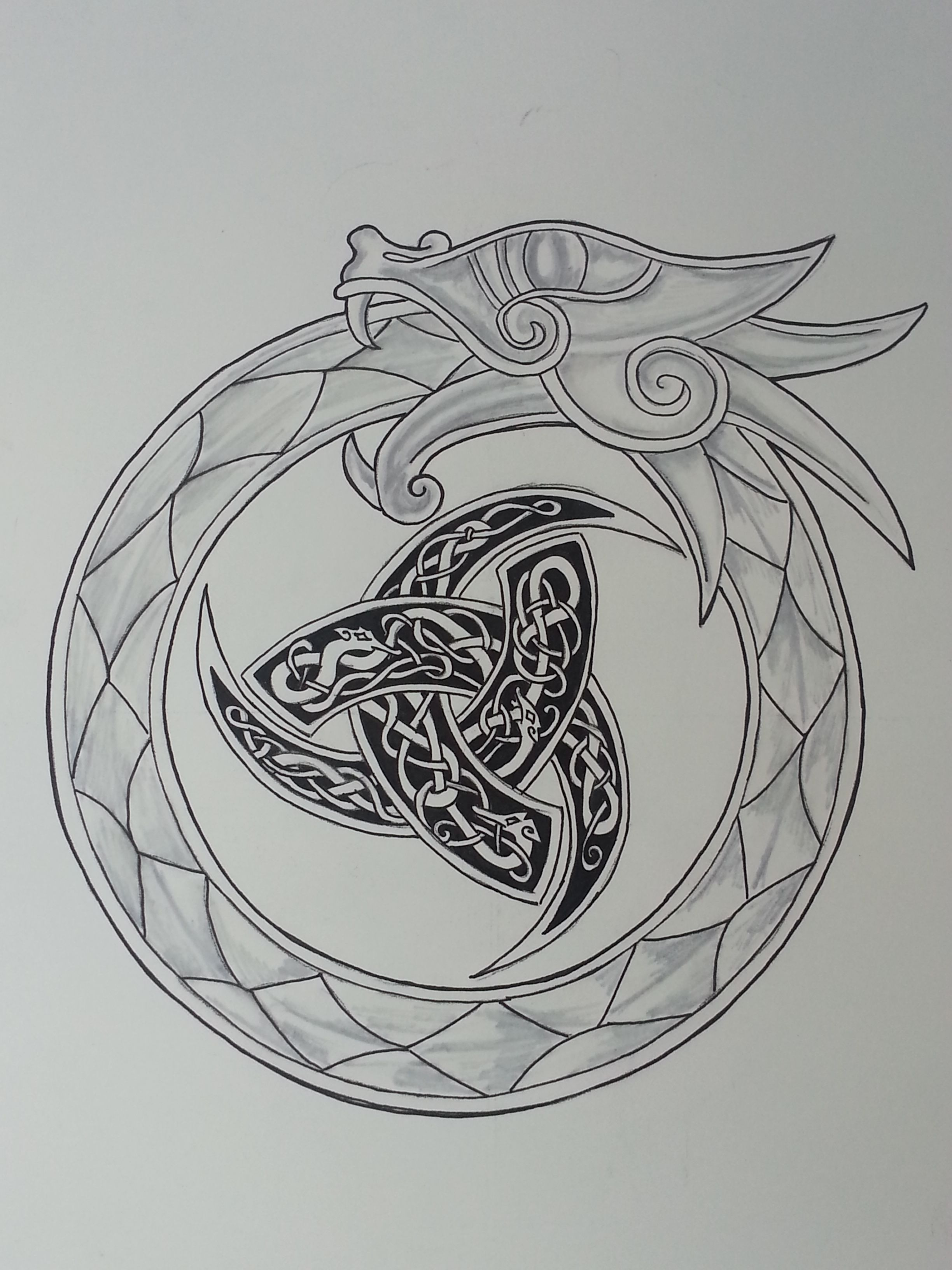 Pin By Patric Ramage On My Art Norse Tattoo Celtic Tattoos Nordic Tattoo