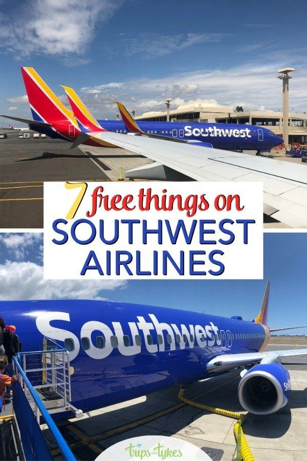 7 Totally Free Things On Southwest Airlines That Will Cost
