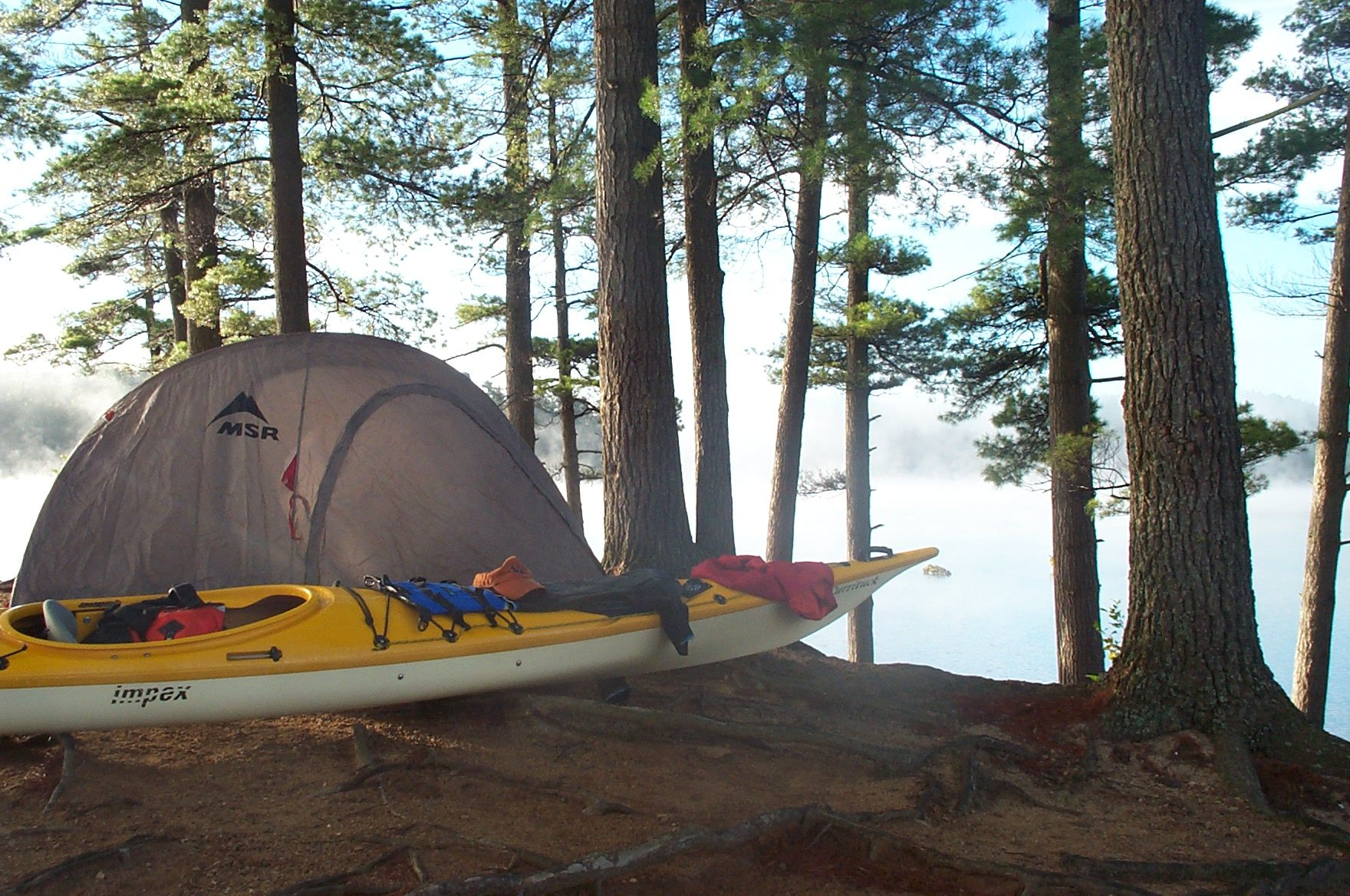 Photo of Werner Blog | Photo of the Day. That time of year. Autumn kayak camping. | Werne…