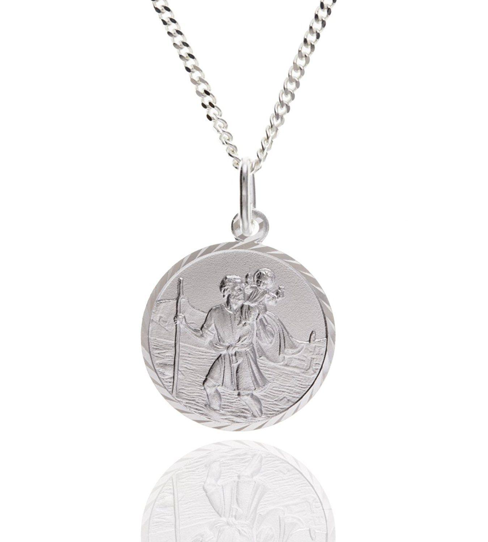 Baltic Honey Amber Sterling Silver Orthodox Cross Pendant Rolo Chain 46cm T3lvSyyy