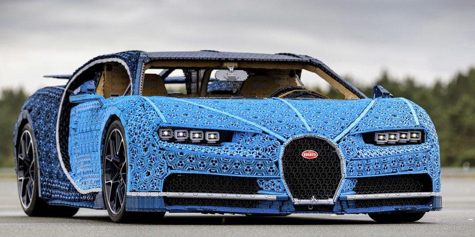 Lego Technic Bugatti Chiron Life Size Model Rare Norm Bugatti Chiron Bugatti Lego Technic