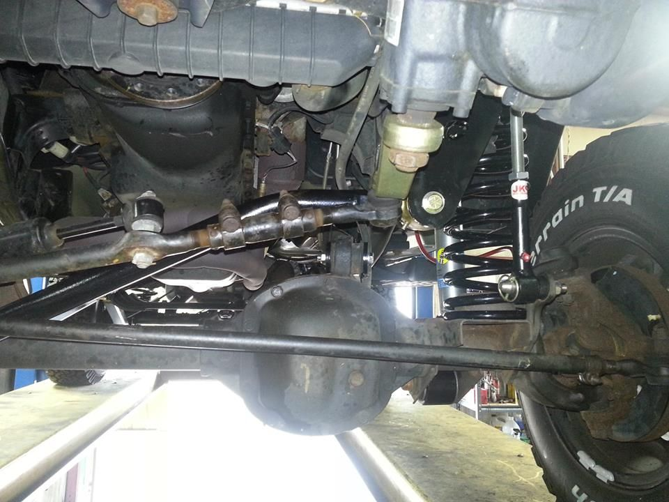 2005 Jeep Tj 5 5 Long Arm Suspension Install New Front End