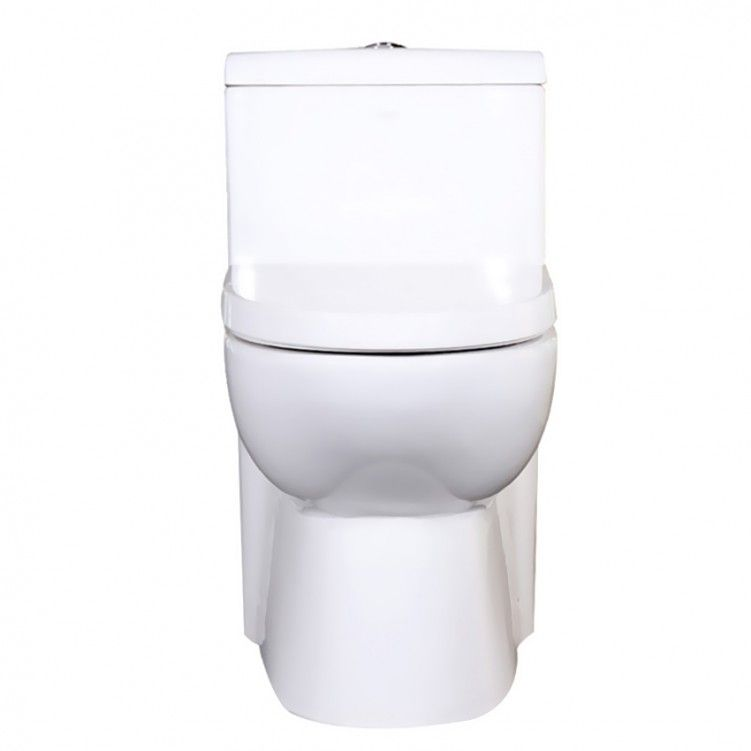 Eago Factory Direct One Piece Ceramic Dual Flushing Toilet Home