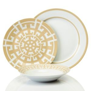 Colin Cowie 24-piece Santorini Porcelain Dinnerware Set at HSN.com. #HSN  sc 1 st  Pinterest & Colin Cowie 24-piece Santorini Porcelain Dinnerware Set at HSN.com ...