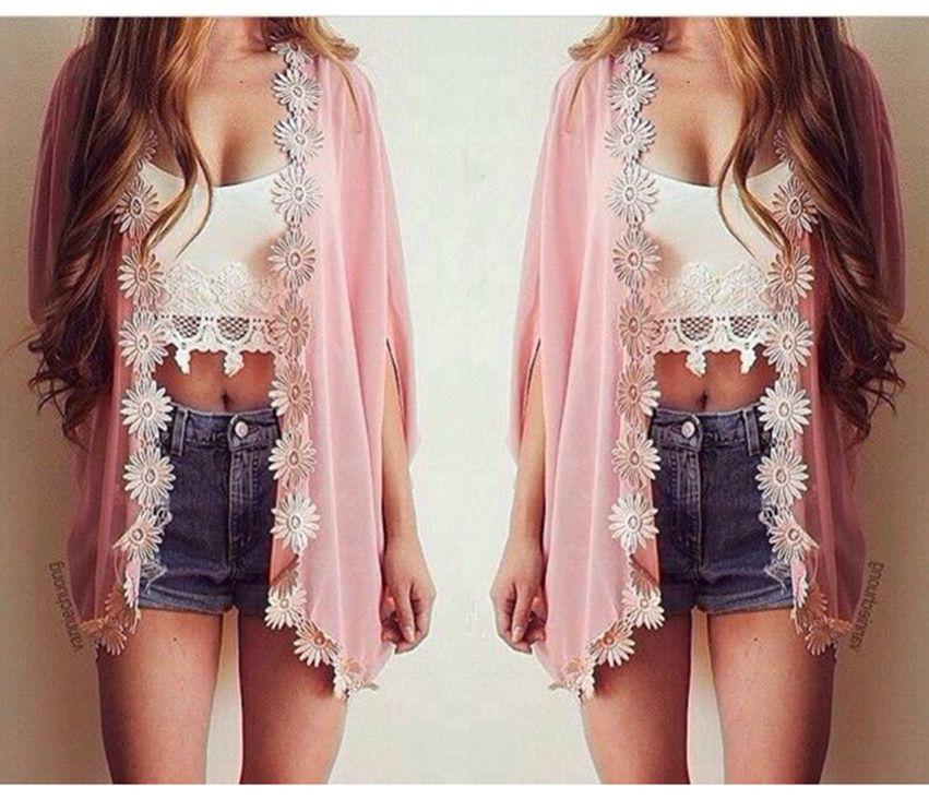 Chiffon Lace BianFuShan Sunscreen Shirt Sdfd on Luulla |   CUTE ...