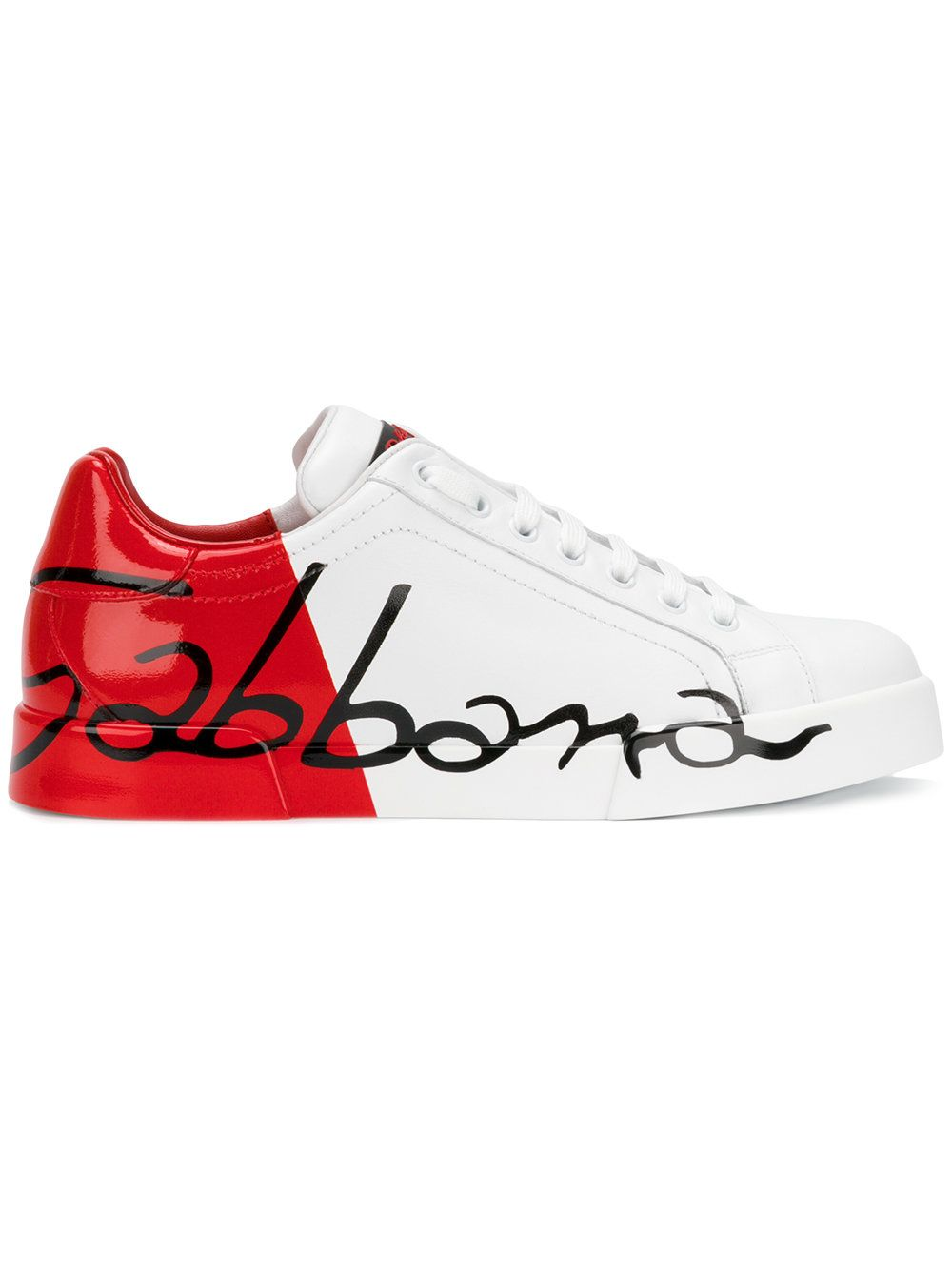 0a83a9b04c3 Dolce & Gabbana scrawled logo sneakers | MEN'S FOOTWEAR | Shoes with ...