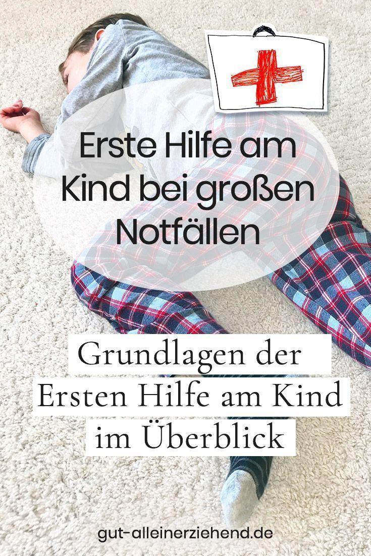 Erste Hilfe im Notfall für Alleinerziehende alleine mit Kind #alleinerziehend #trennung #scheidung #familie #kinder #leben