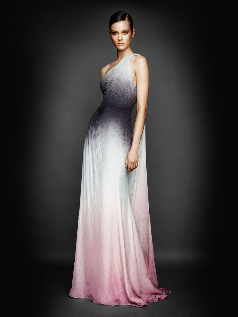 Atelier Versace fall/winter 2010 ombre dress. Perfection! | Dream ...