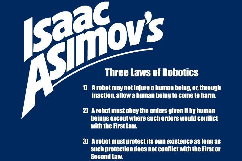 Image result for isaac asimov three laws of robotics