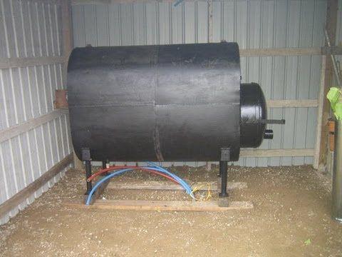 Home Built Wood Boiler Hookup Outdoor Wood Furnace Outdoor Wood Outdoor Wood Burner