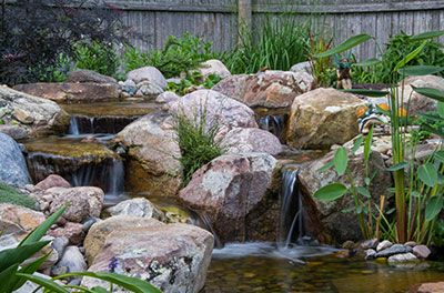 Diy Backyard Waterfall Waterfalls Backyard Backyard Pondless Waterfall Ponds Backyard