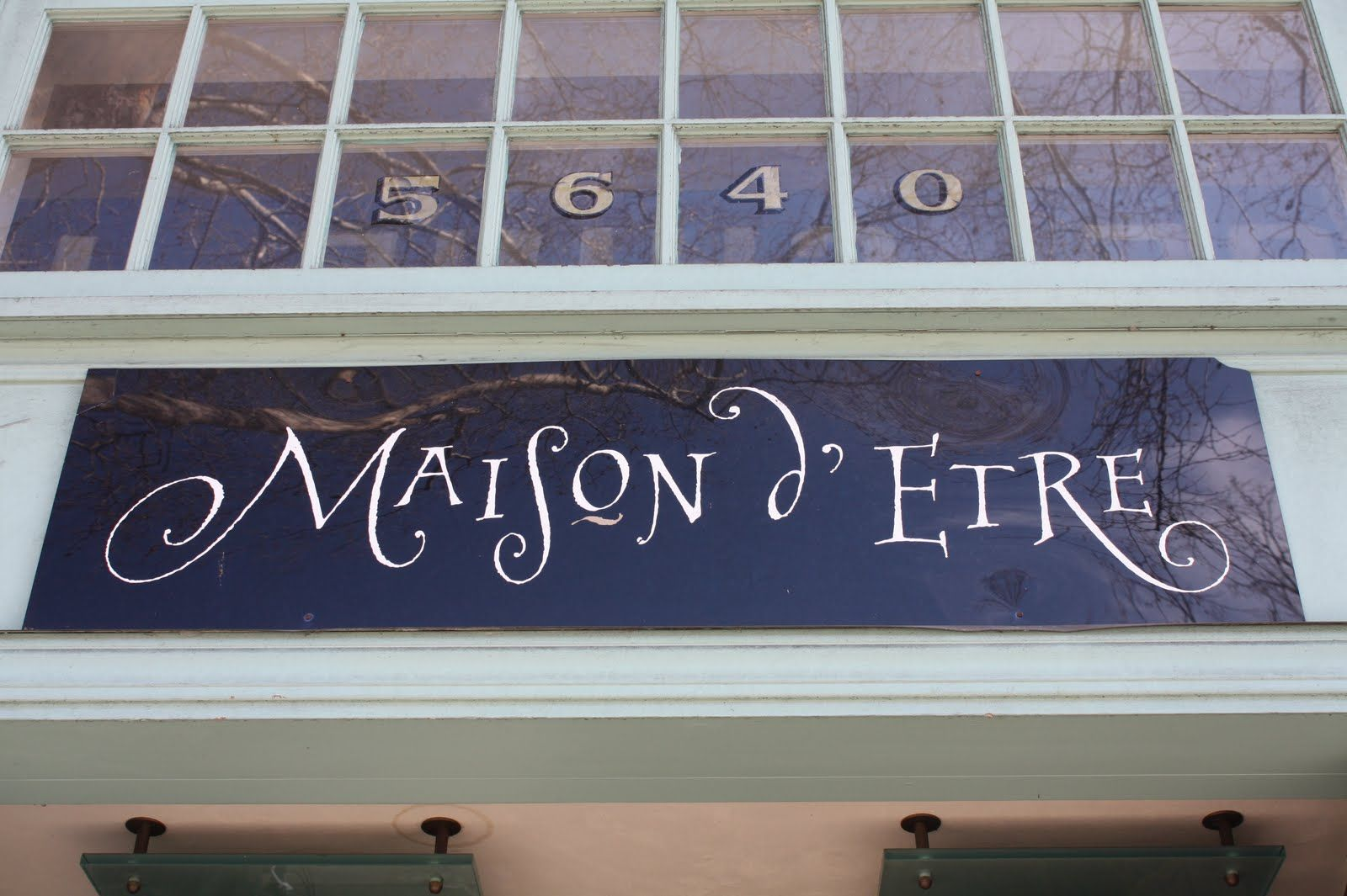 French is my 3rd language the maison d 39 etre means the for Maison etre