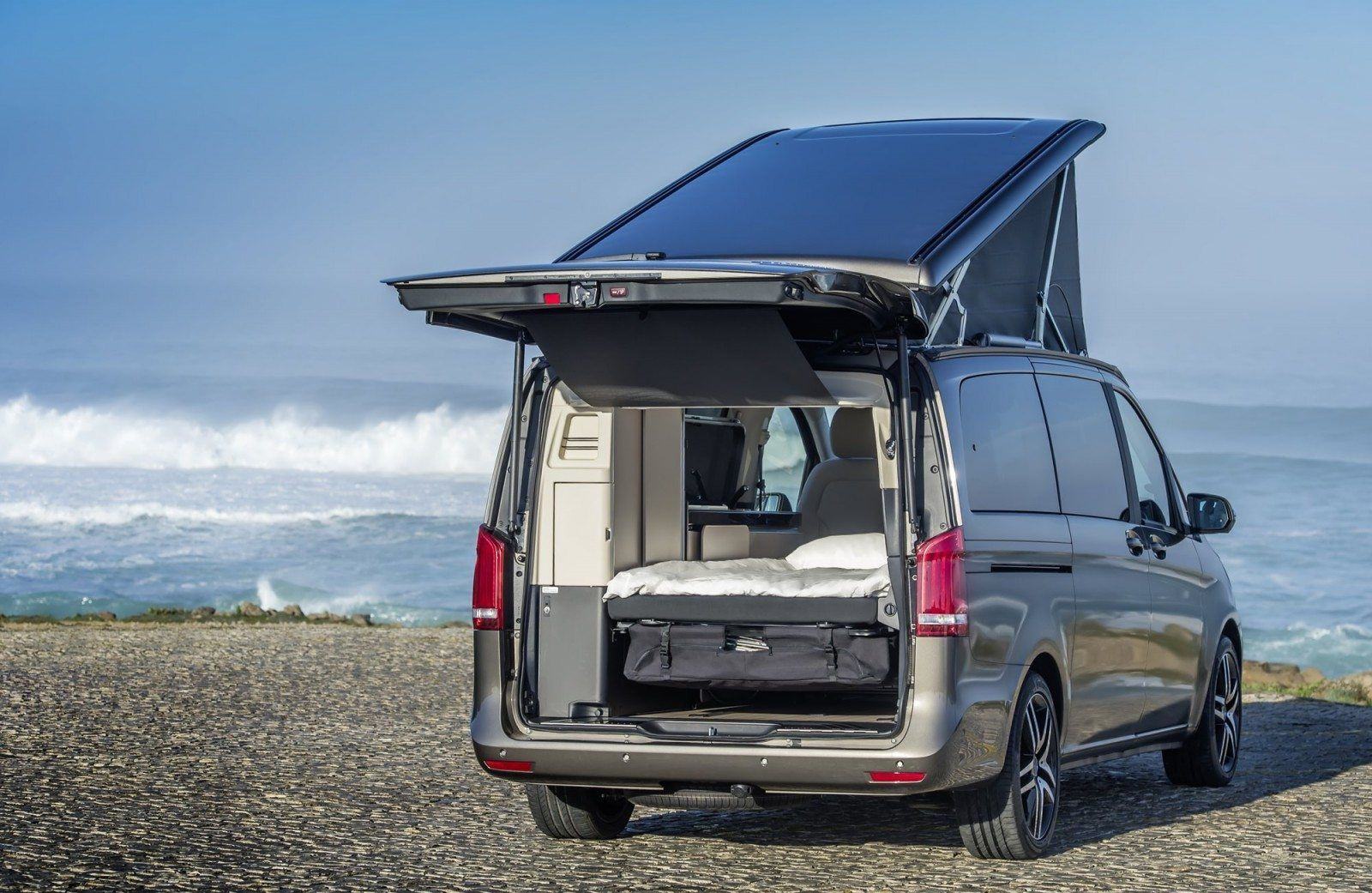 2015 Mercedes Benz Marco Polo Glampers Primed For Lux Travel
