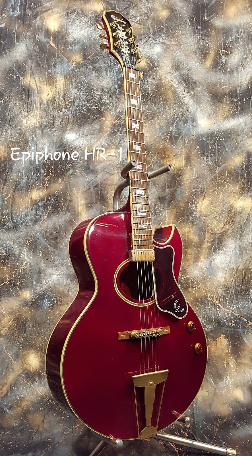 Epiphone Howard Roberts Hr 1 1996 Wine Red Cherry Guitar Git Reverb In 2020 Epiphone Guitar Epiphone Acoustic Guitar