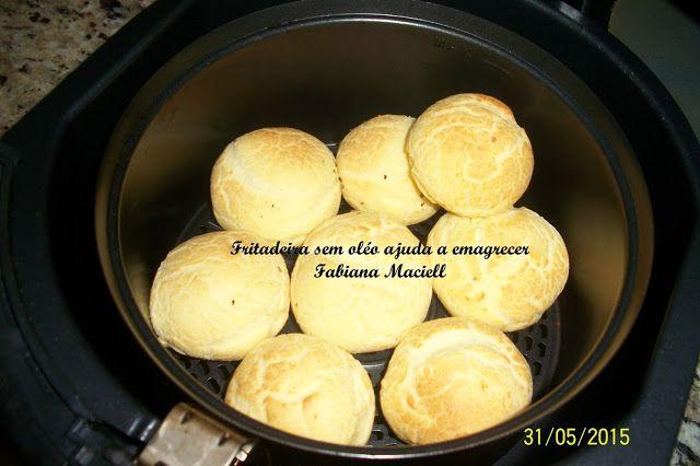 Fabiana Maciell Receitas: Pão de queijo na Fritadeira sem óleo AirFryer