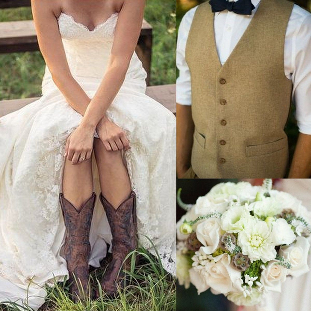 Brides Grooms Paired With Bouquets ShoesWedding Style Lisa Sammons Events