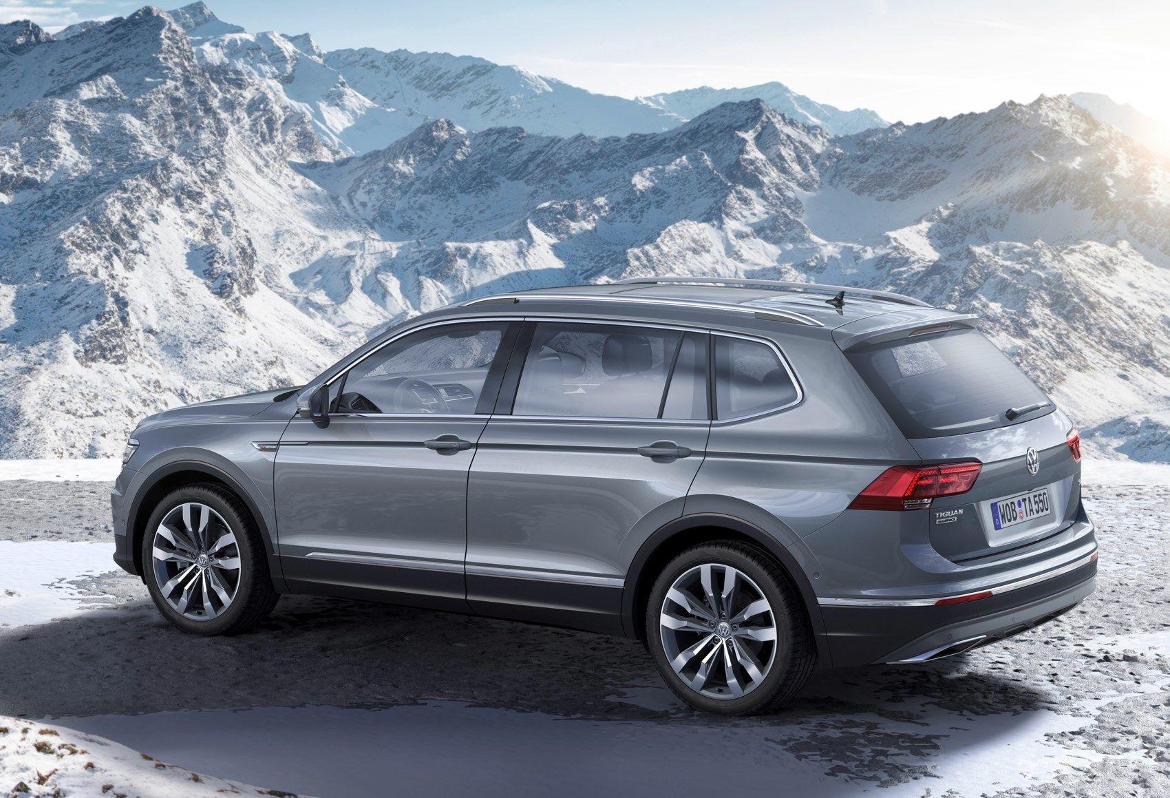 Volkswagen Tiguan Allspace Review (2017 - ) | Parkers | Tiguan ...