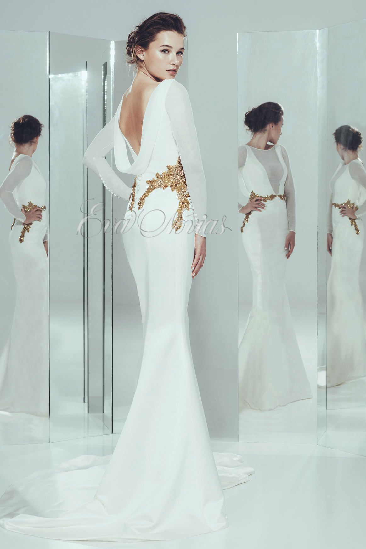 Vestido de novia Ivan Campaña 2016 Modelo Amor en Eva Novias Madrid ...
