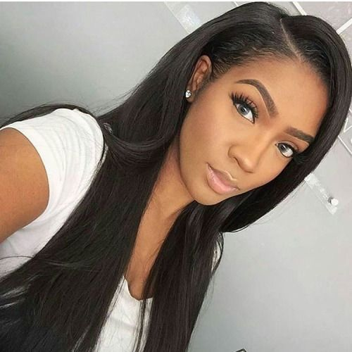 Love The Simple Make Up Hair Styles Weave Hairstyles Long Hair