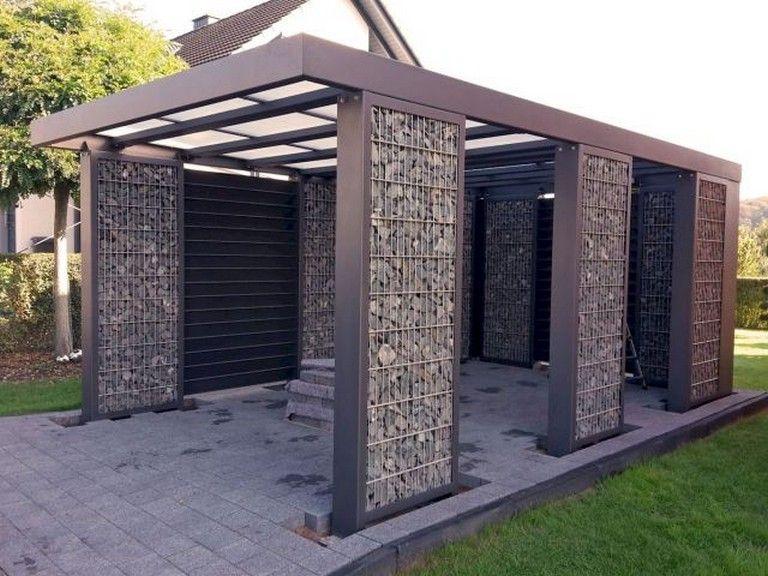 56 Interesting Modern Carports Garage Designs Ideas Garage Garageorganization Designinspiration Carport Garage Carport Designs Modern Carport
