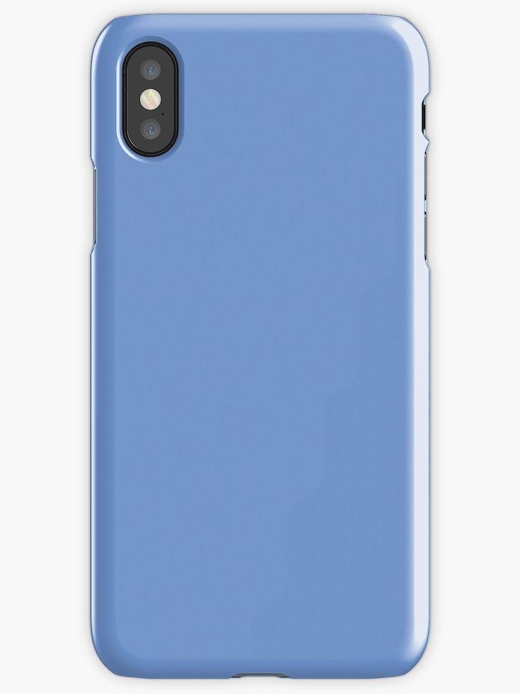 sale retailer 172c0 f6b58 Cornflower Blue' iPhone Case by KinitaDesign in 2019 | Personalized ...