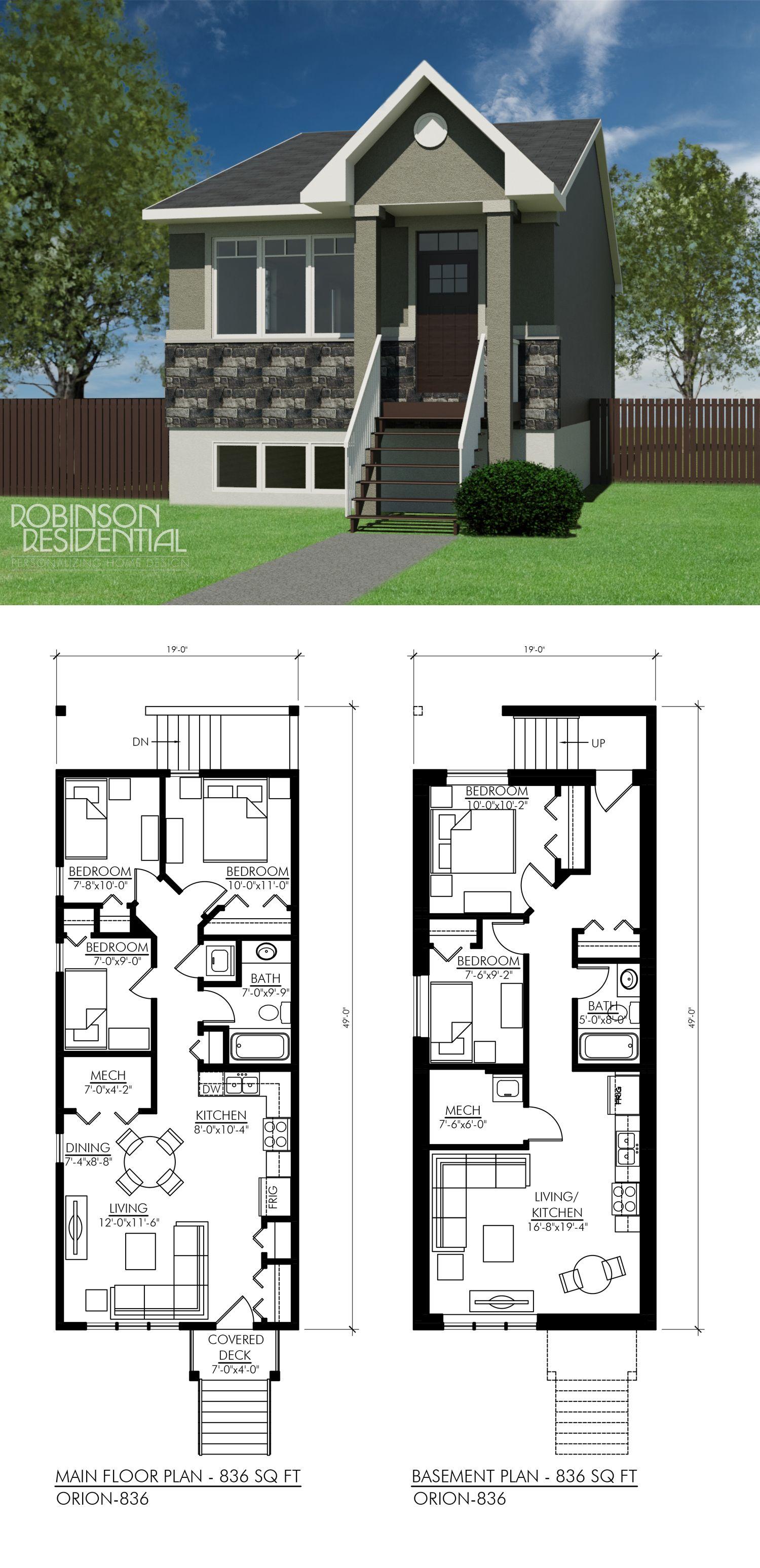 Craftsman Orion 836 Robinson Plans Bedroom House Plans 5 Bedroom House Plans House Plans