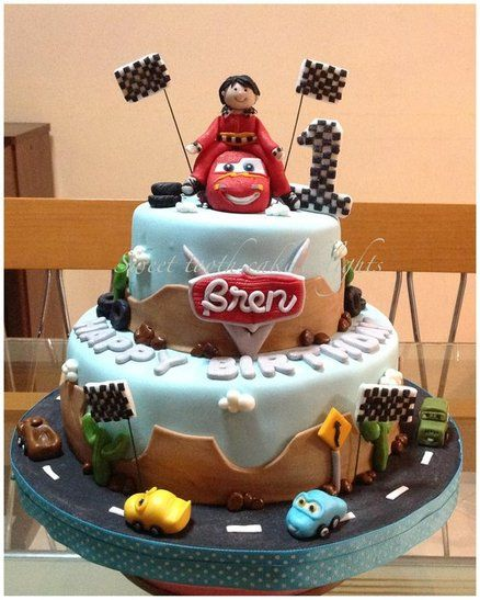 Cars themed cake  Cake by Sweet tooth