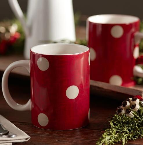 cute red polka dot mugs http://rstyle.me/n/t7zvdr9te