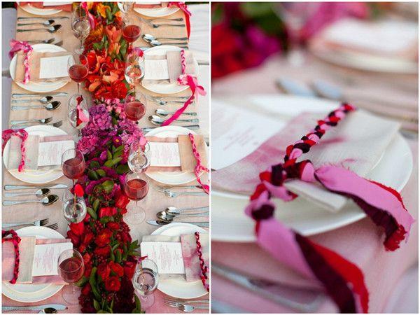 pink rot valentinstag hochzeit ideen herz liebe hochzeiten. Black Bedroom Furniture Sets. Home Design Ideas