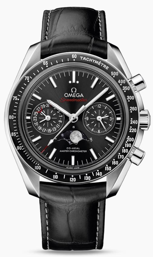 Collection   MOONWATCH OMEGA CO-AXIAL MASTER CHRONOMETER MOONPHASE CHRONOGRAPH 44.25 MM