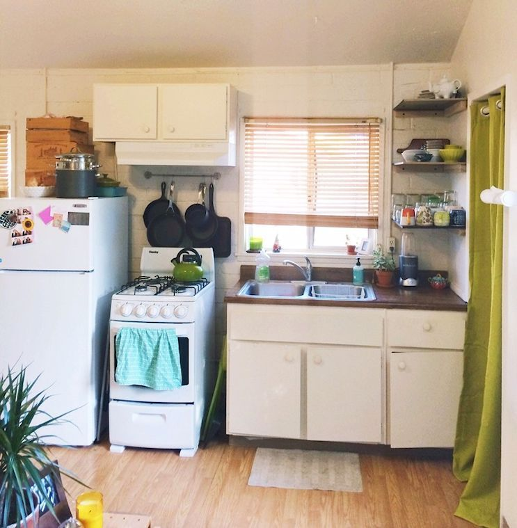 7 monoambientes muy pequeños de 15 a 19 metros² | Cocinas, Metro ...