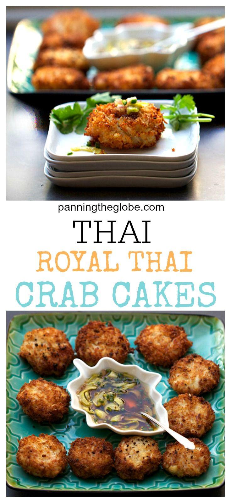 Royal Thai Crab Cakes