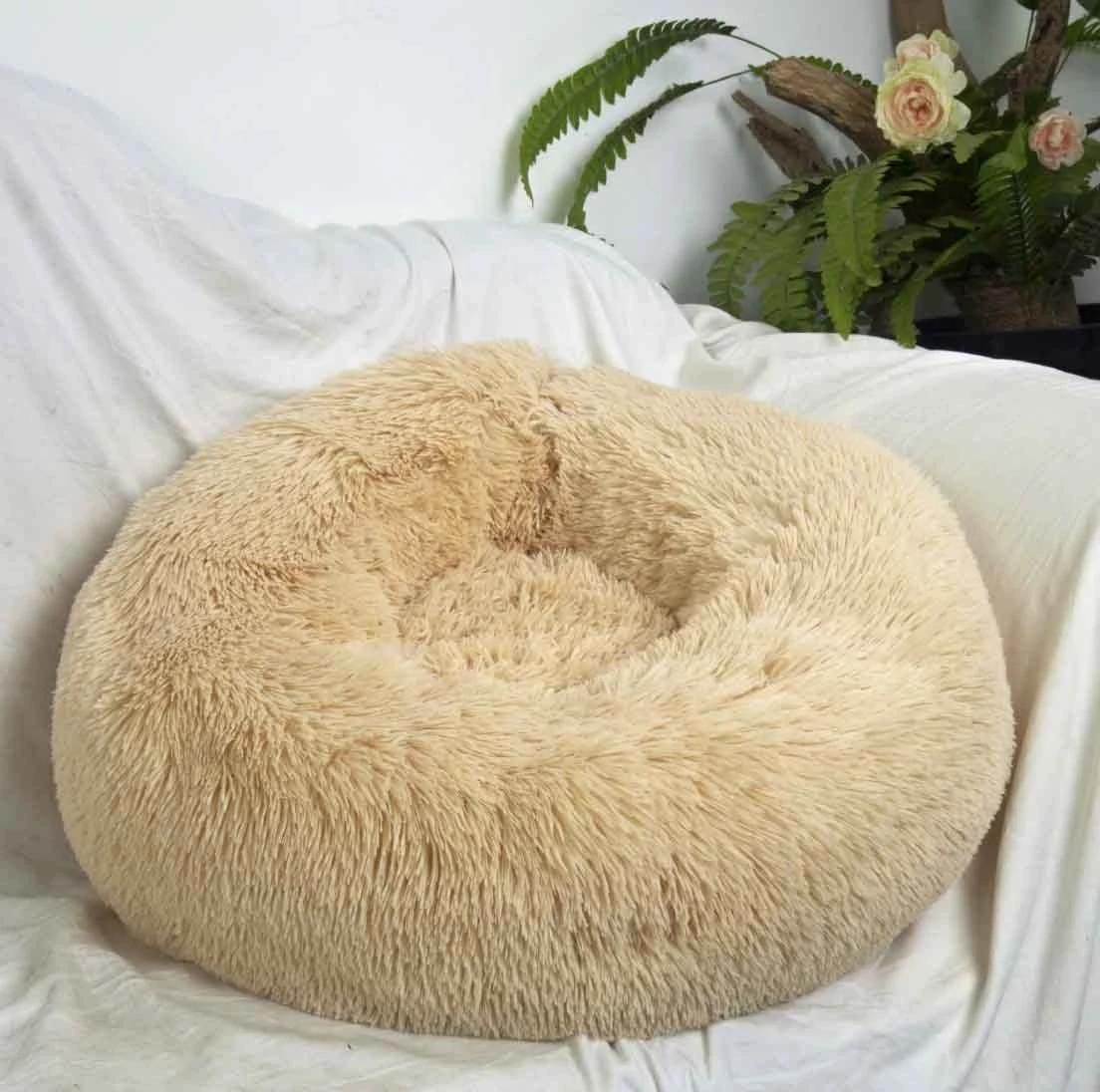 Comfy calming dog/cat bed Pet beds, Dog bed, Dog cat