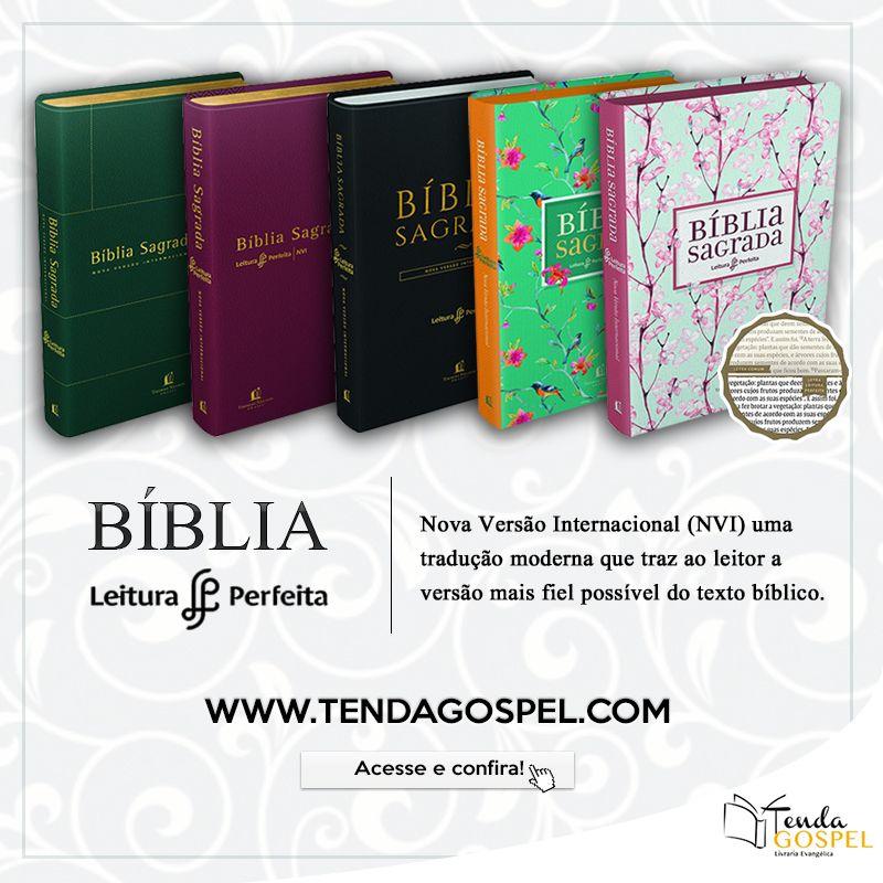 Biblias Nvi Leitura Perfeita Na Tenda Gospel Clique E Confira