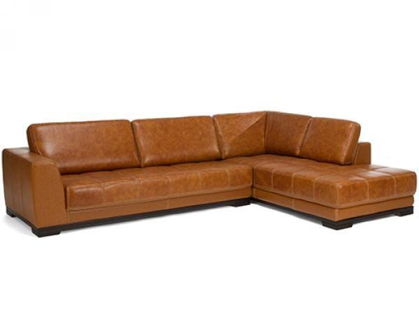Big Sofa Kunstleder Braun
