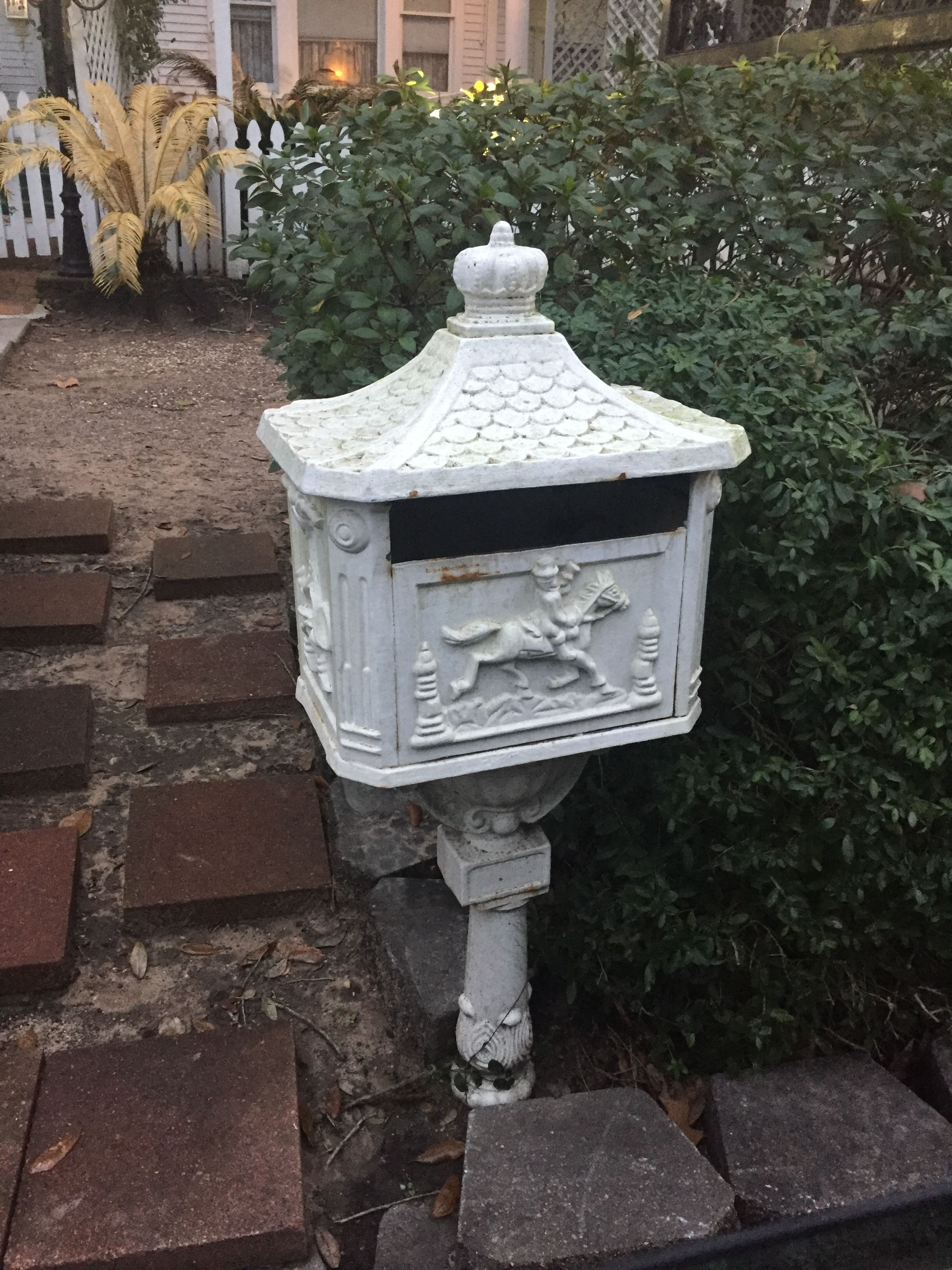 security bestchoiceproducts aluminum pedestal mailbox heavy duty products product best box victorian postal cast mail rakuten white choice new shop