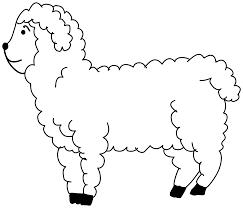 ovelha para colorir pesquisa google animais da quinta pinterest