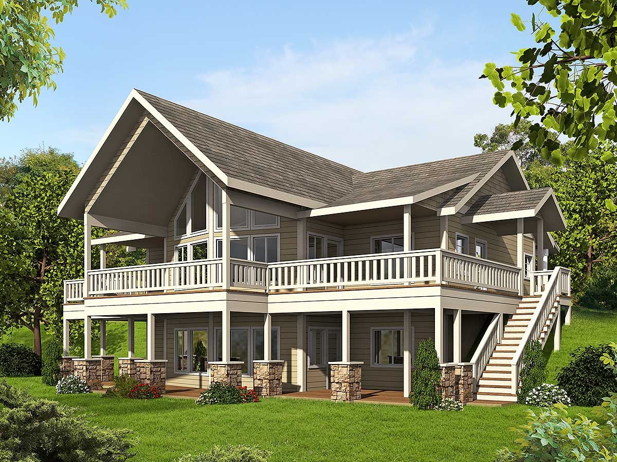 plan 35511gh: mountain house plan with up to four bedrooms