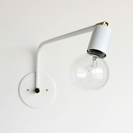 leuke industriele wandlamp onefortythree lighting pinterest