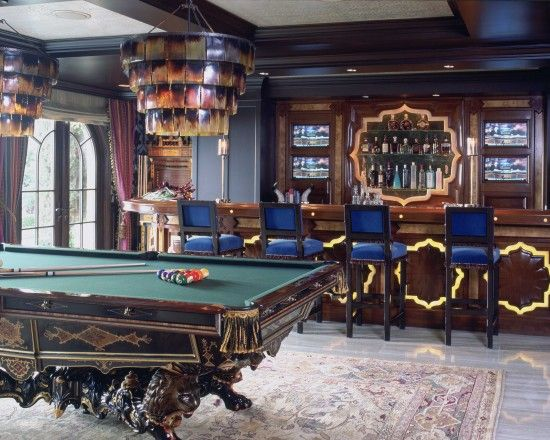 Elegant Pool Table Design ... For An Elegant House..http:/