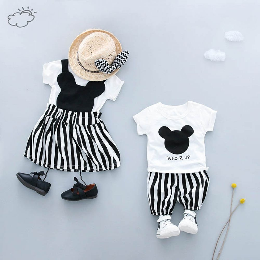 Baby Clothing Sets Girl Boy Clothes T Shirt Shorts Kids Outfits Matching Family Outfits Summer Baby Clothes