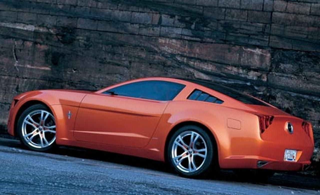 Ford gt90 replica diy ford gt90 replica - 2006 Giugiaro Ford Mustang Concept Was Ringer Vs In House Ford Designs