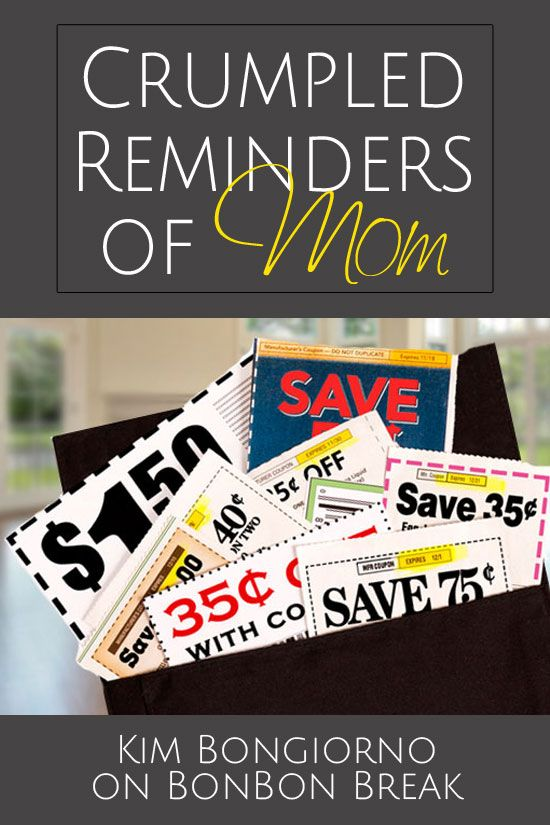 Crumpled Reminders of Mom by @letmestart on @BonbonBreak | mothers and daughters | women