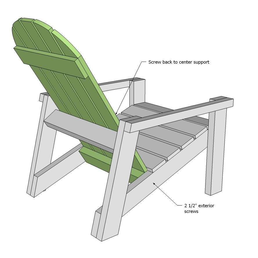rocking chair plans ana white