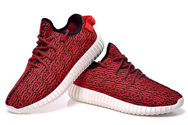 Adidas Women Yeezy shoes classic red