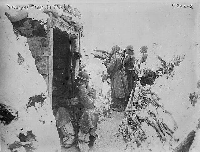 Les brigades Russes en France, the Russian Legion in France.