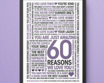 gifts for dad 75th birthday gift 75 reasons why we love you